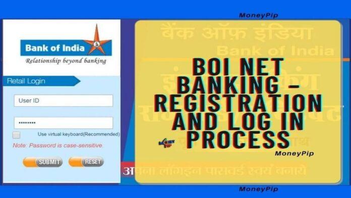 BOI NET BANKING REGISTRATION In Hindi