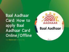 Baal Aadhaar Card