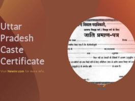 Uttar Pradesh Caste Certificate