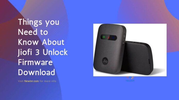 jiofi 3 unlock firmware