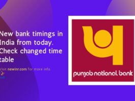 pnb bank timings