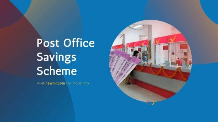 Post Office Savings Scheme