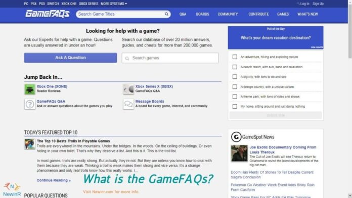 What is the GameFAQs_